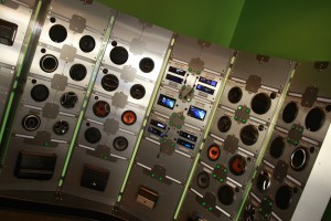 Variety of car stereo head units on display in our store