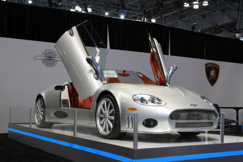 2012 Spyker C8 at the New York Auto Show 2012
