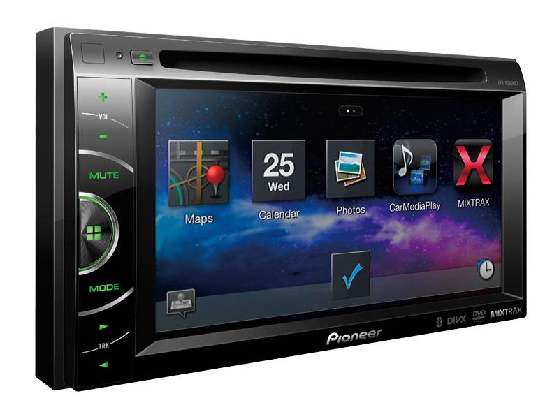 Pioneer App Mode shown on AVH-X2600BT