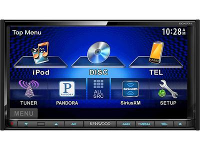 "Kenwood's 7"" Double Din Touch Screen Head Unit 2014"
