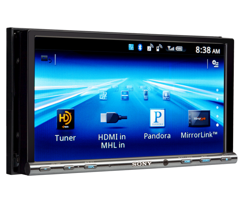 "Sony's 7"" Double Din Touch Screen Car Stereo Head Unit Features Great Sound Quality"