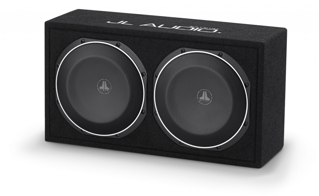 "Dual 10"" TW1 Enclosure - 600 watts of power handling, 20"" of subwoofer in a little over 1 cubic foot!"