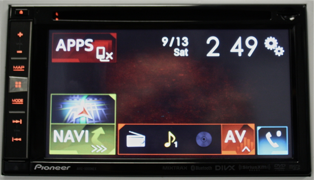 Pioneer AVIC-5000NEX Home Screen