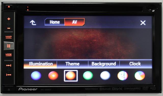 Appearance Options AVIC-5000NEX