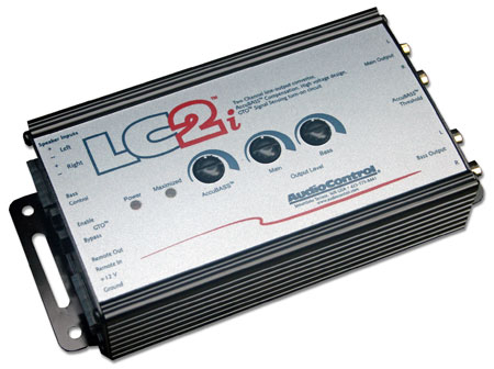 Audio Control LC2i is an advanced line output convertor specifically designed to compensate for an bass attenuation created by a stock audio system.