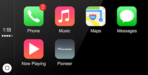 Still waiting for the Pioneer Carplay update.
