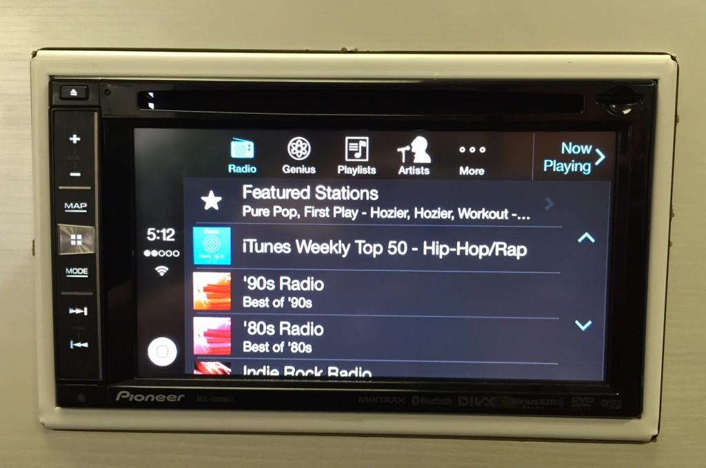 iTunes Radio after CarPlay Pioneer update