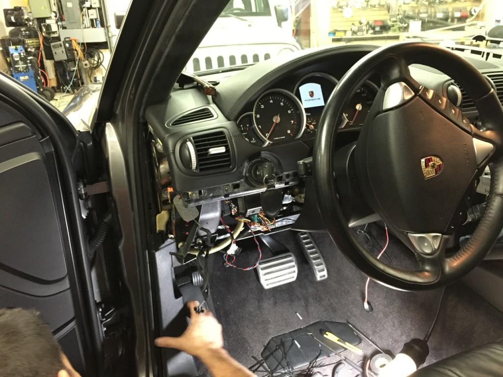 Remote Start Install Porsche Cayenne