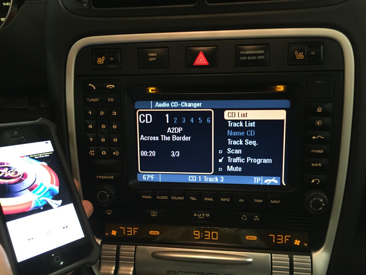 Porsche Cayenne - Remote Car Starter and Bluetooth - Car