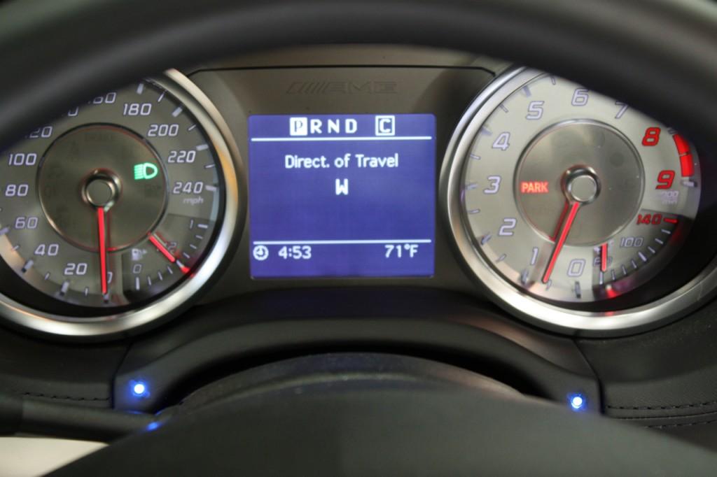 K40 LED Display Mercedes SLS AMG