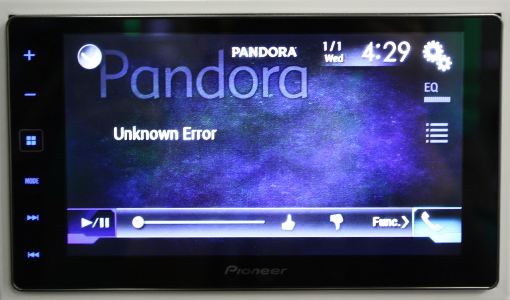 AppRadio 4 Review - Pandora Quirk