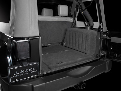 Jeep Wrangler Stereo Upgrade - JK-Unlimited-Subwoofer