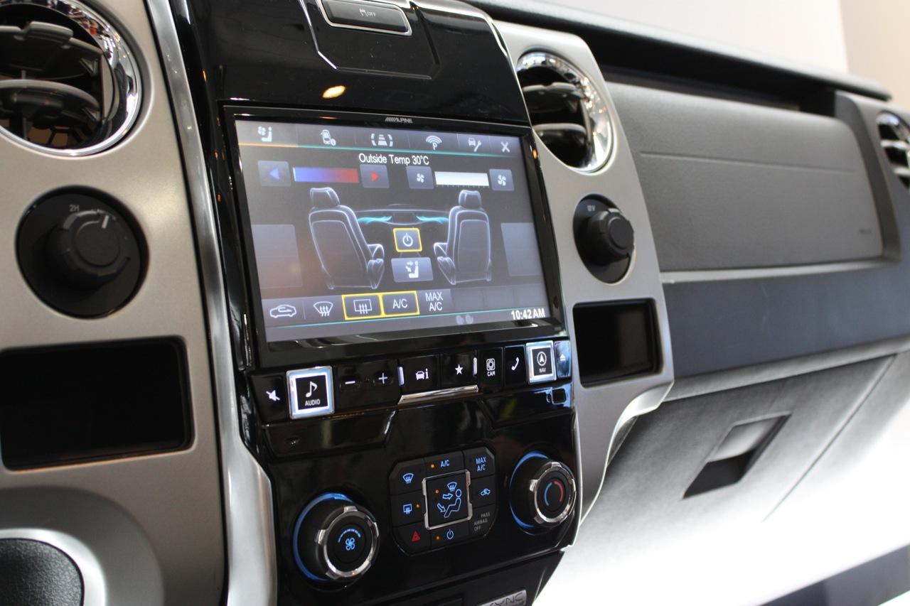 Alpine-X009-FD2-HeatAC-integration Raptor Car Stereo Wiring Diagram on