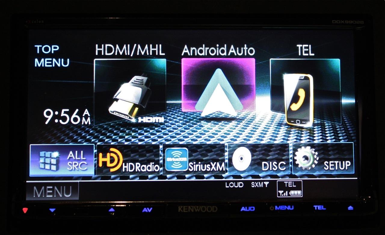 Kenwood CarPlay & Android Auto - DDX9902s & DDX9702s - Car