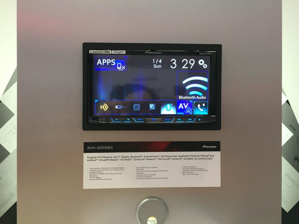 Pioneer Android Auto AVIC-4100NEX CES 2015