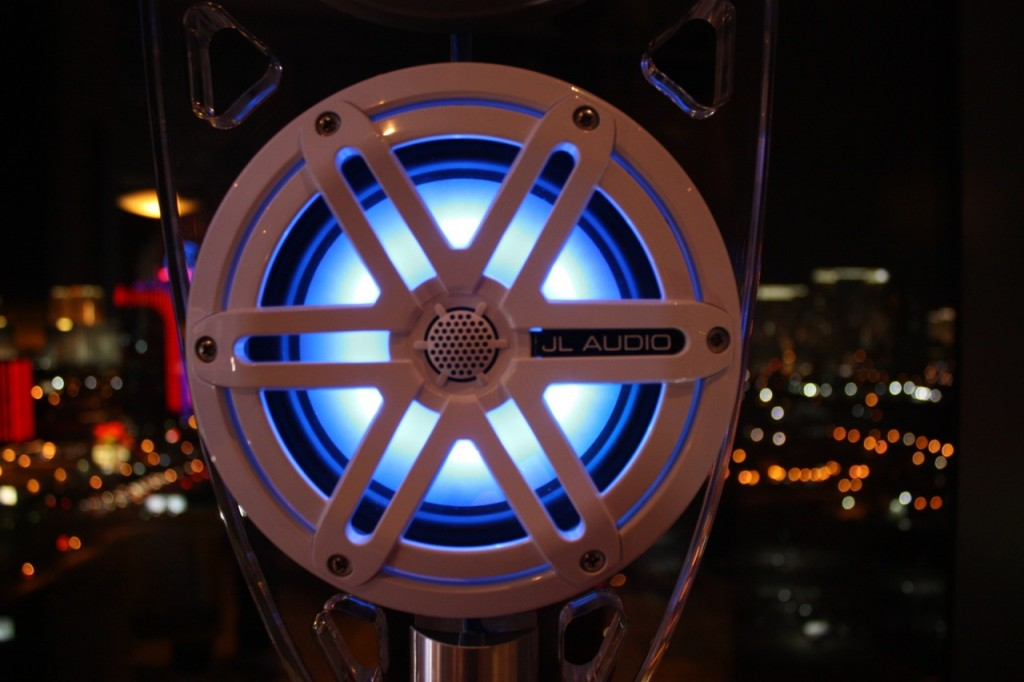 New JL Audio Marine Speakers with LED Lighting