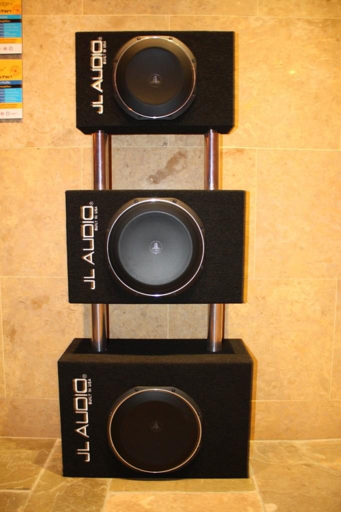 JL Audio Amplified Microsub Enclosures