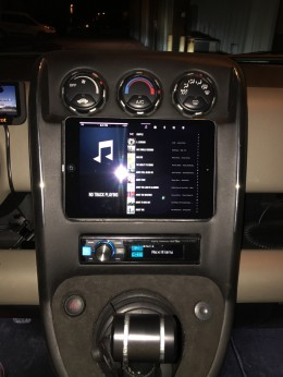 iPad Mini installed in our Honda Element