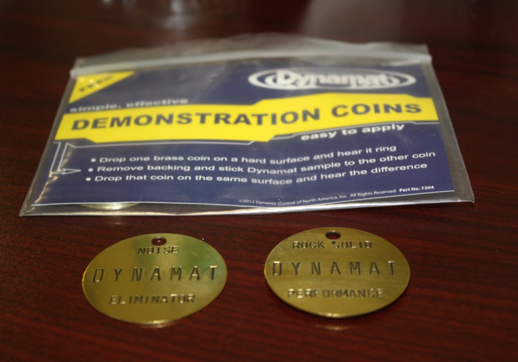 Dynamat does indeed provide rock solid performance.