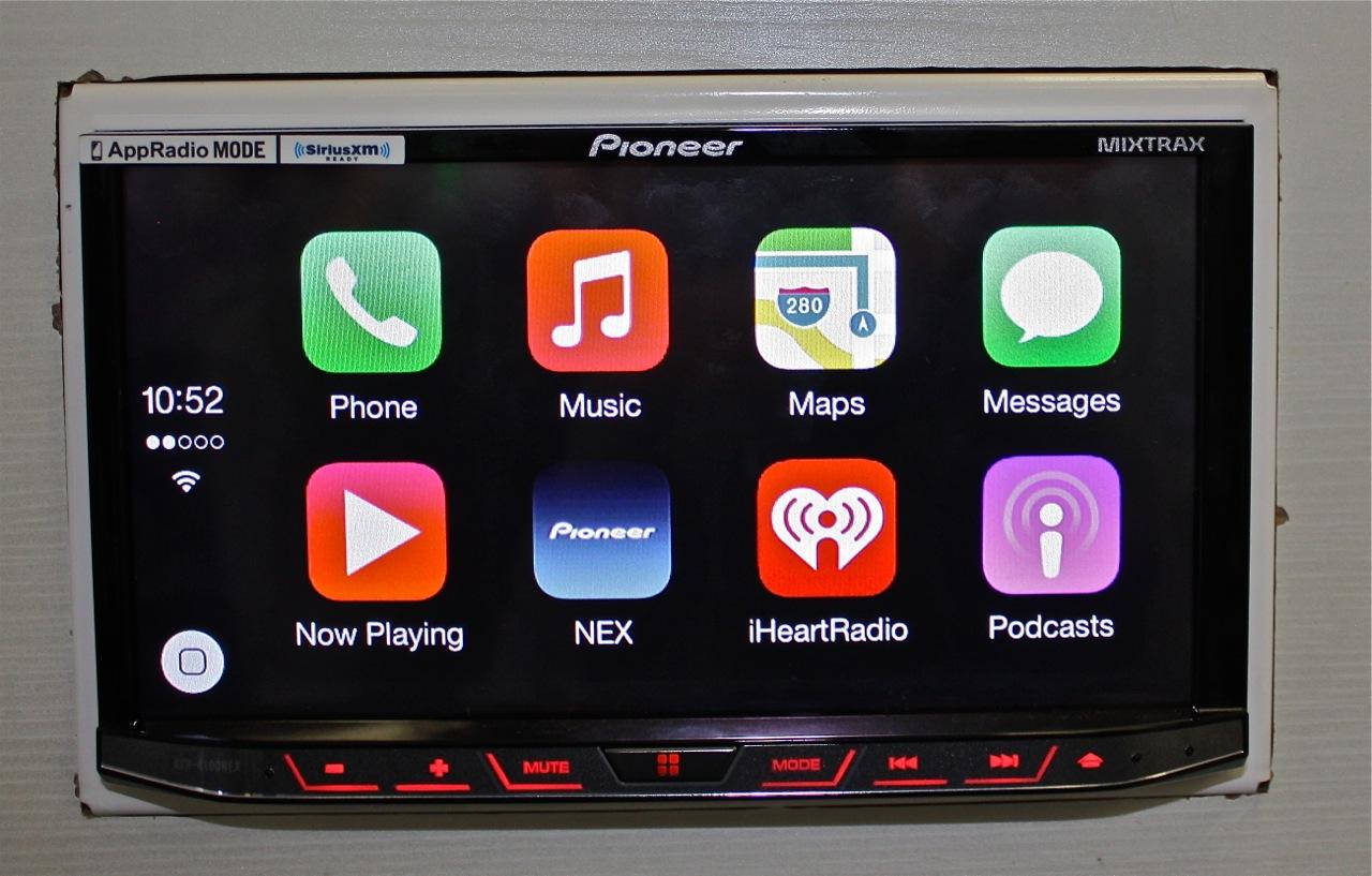 Apple CarPlay Pioneer AVH-4100NEX
