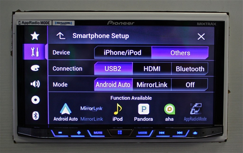 Best Double Din 2015 - Setting up Android Auto on AVH-4100NEX