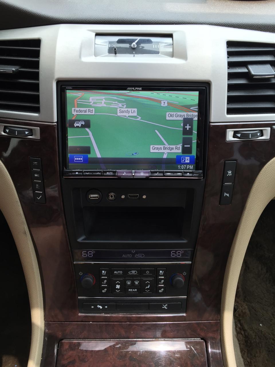 Cadillac Escalade gets Restyled with an Alpine X008U - Car