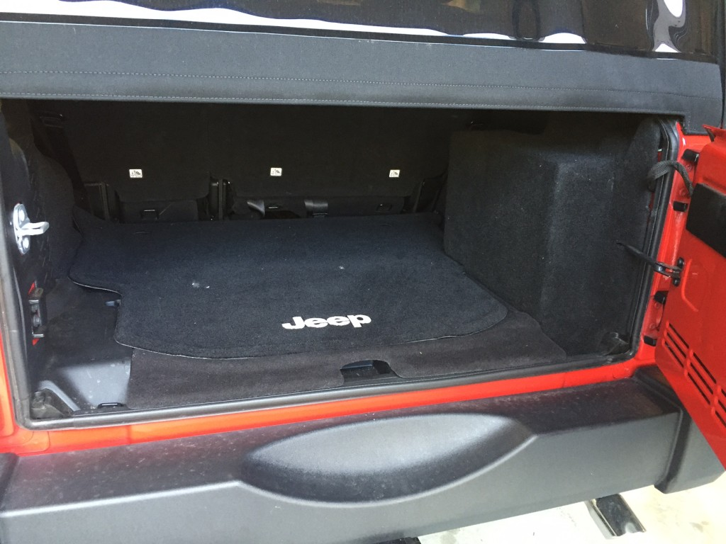 Jeep Wrangler Custom Stealth Subwoofer