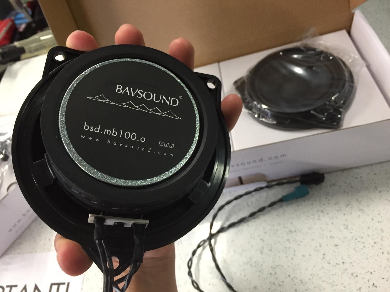BavSound Stage 1 Speaker Upgrade BMW 1 Series