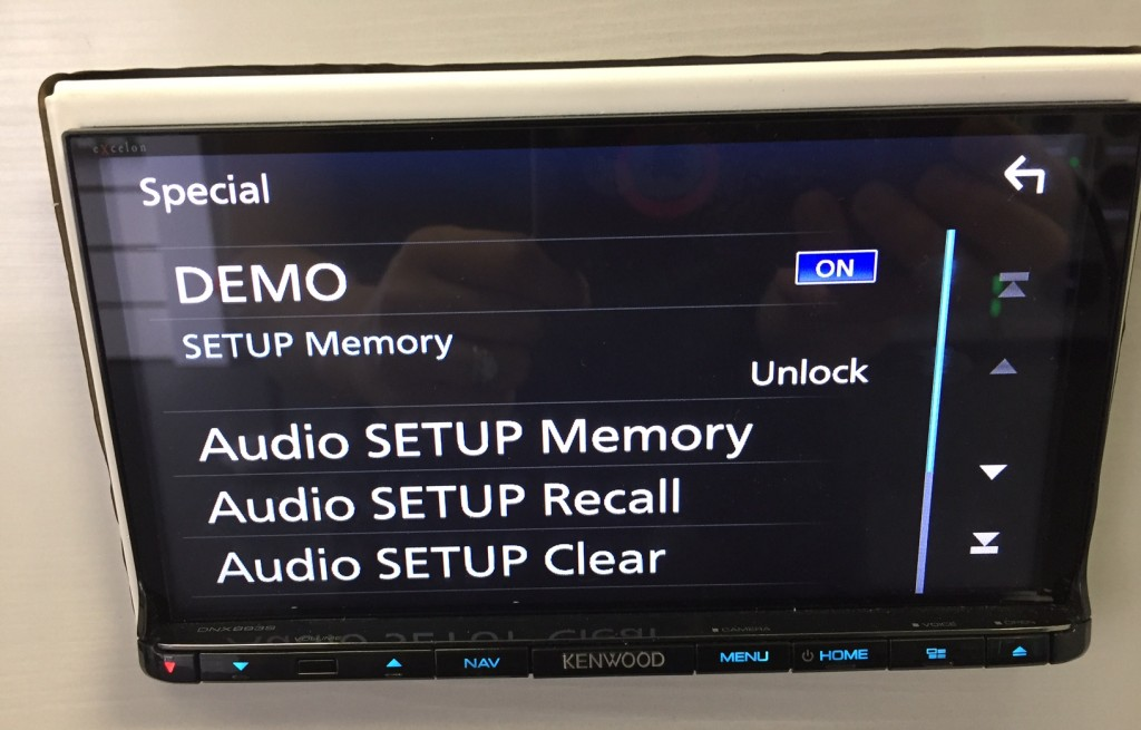 Best Double Din Navigation 2016 - Kenwood DNX893s settings memory recall!