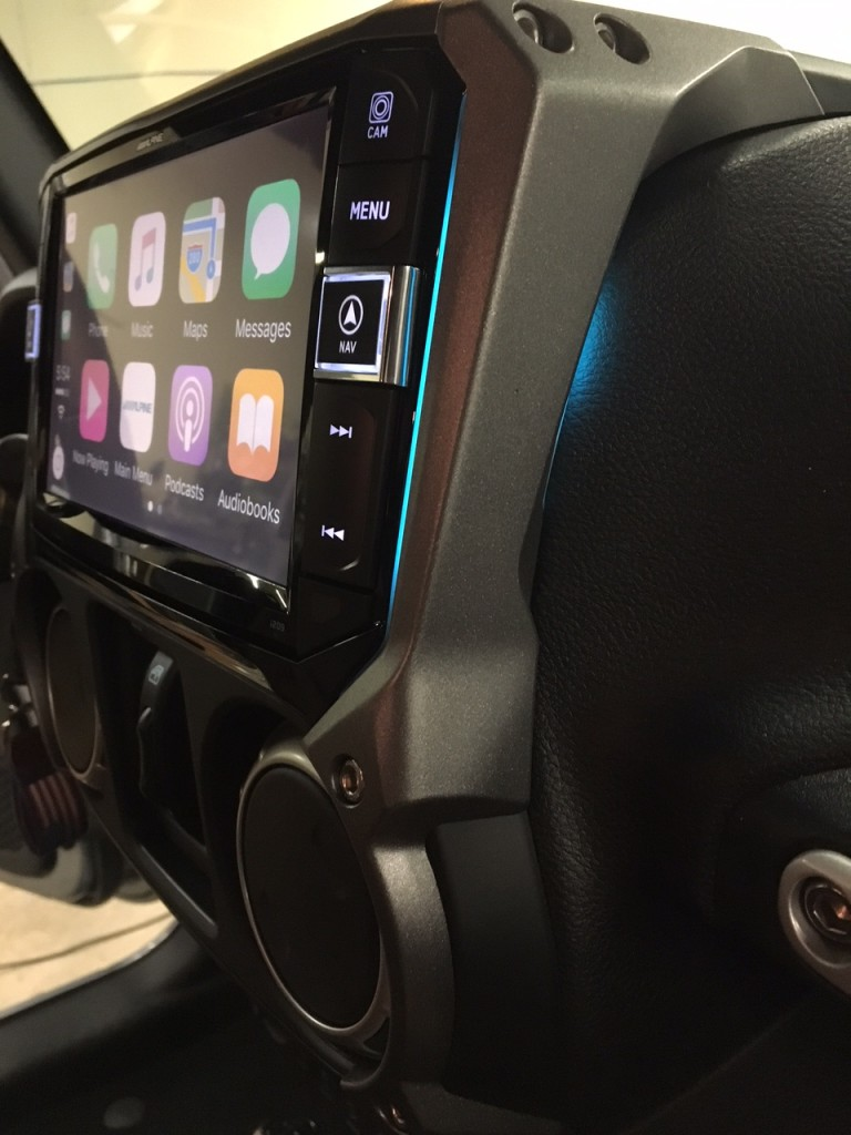 Alpine i209-WRA installed Sounds Incredible Mobile CT & NY