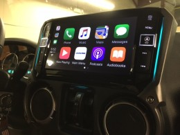 Alpine i209-WRA installed Jeep Wrangler at Sounds Incredible Mobile, Brookfield, CT.