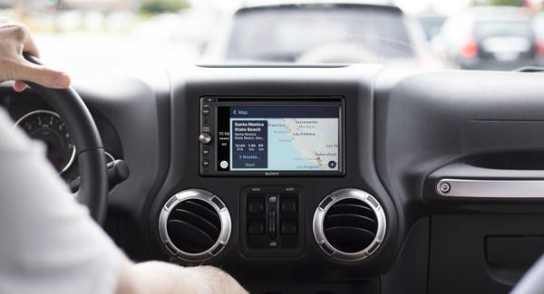 Sony XAV-AX200 Jeep Wrangler
