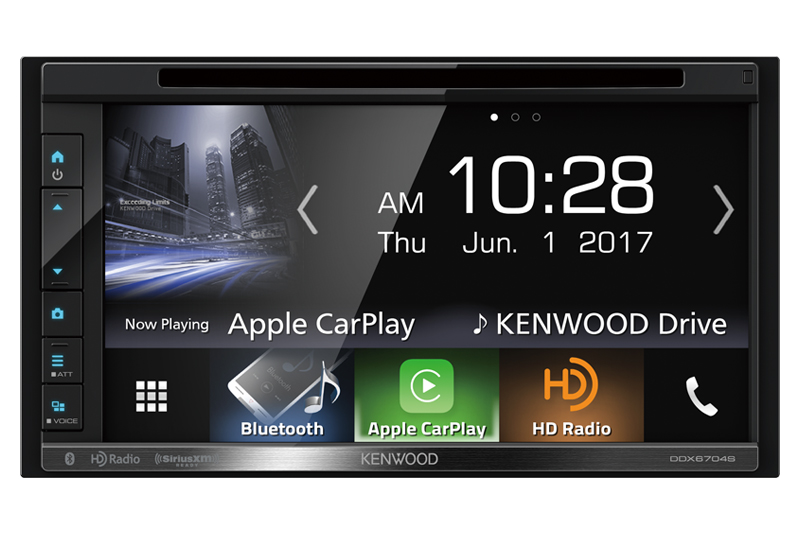 Kenwood DDX6704s - Best CarPlay Head Unit 2018 review