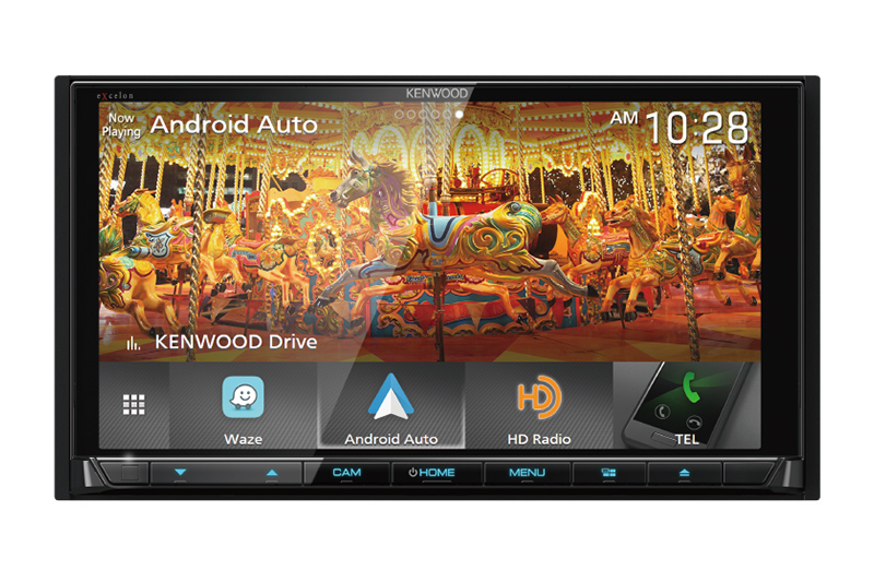 Kenwood eXcelon DDX9905s -  Best CarPlay Head Unit 2018