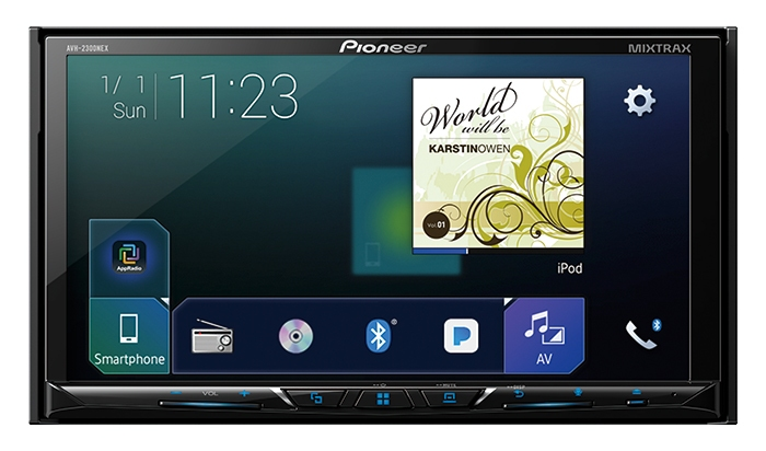 Pioneer AVH-2300NEX 2018 CarPlay Android Auto