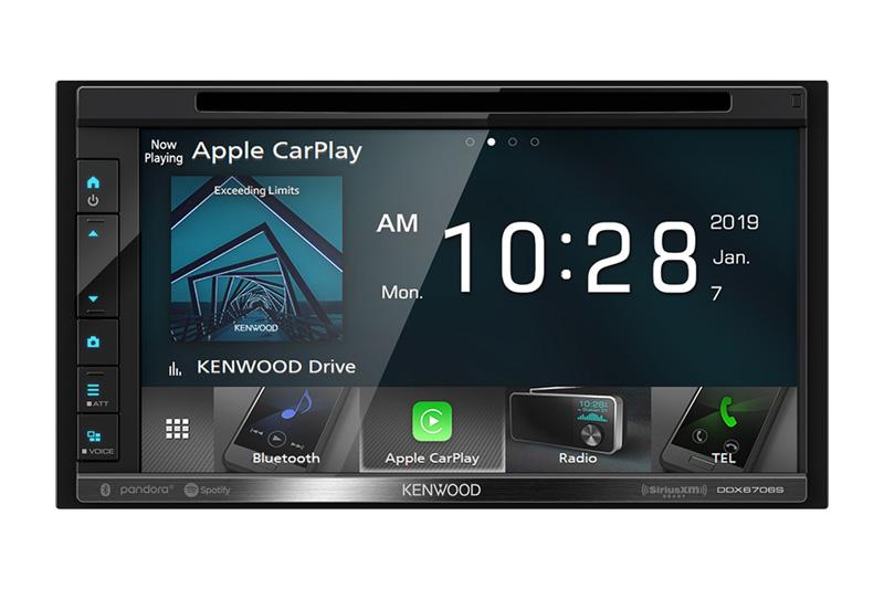 Best Apple CarPlay Stereo 2019 - Kenwood DDX6706s
