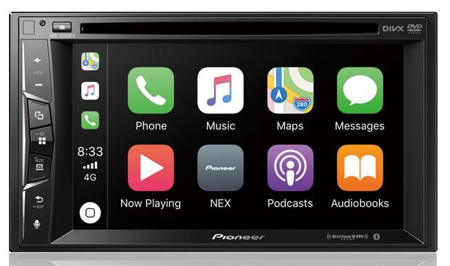 Best Apple CarPlay Stereo 2019 - Pioneer AVH-1500NEX