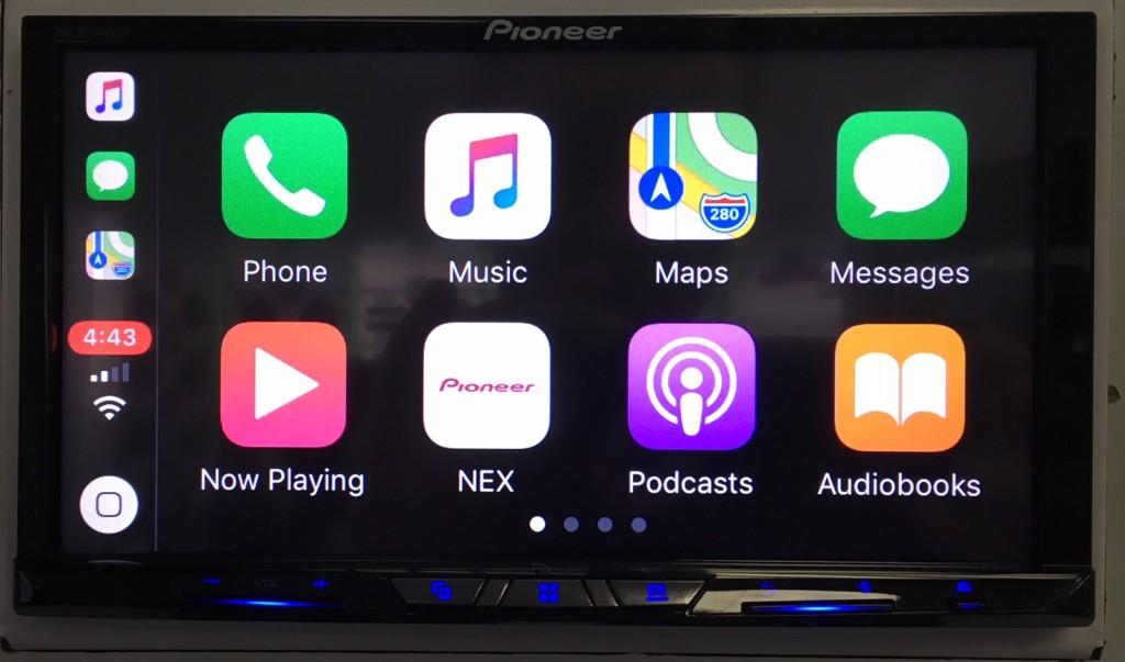 Best Apple CarPlay Stereo 2019 - Pioneer AVH-W4500NEX wireless CarPlay