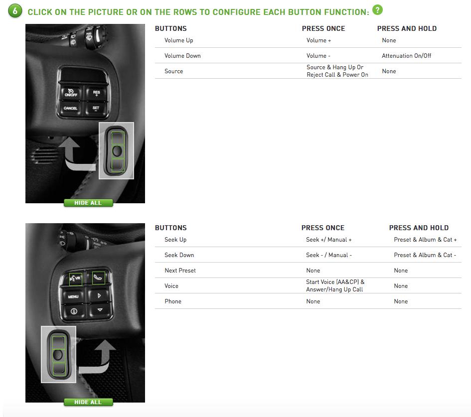 Best Apple CarPlay Stereo 2019 - Sony XAV-AX1000 Steering Wheel Control Functions
