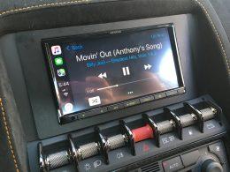 Apple CarPlay Upgrade Lamborghini - Kenwood DMX7706s