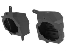 2018 up Jeep Wrangler JL JLU 6.5 Speaker Pods by Metra JP-1014