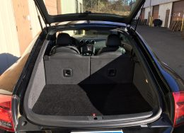 Audi TT Stealth subwoofer install