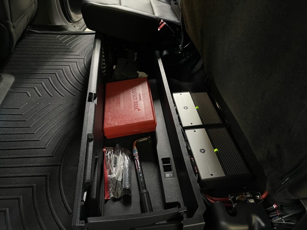 2021 F-150 stereo upgrade - JL Audio amps