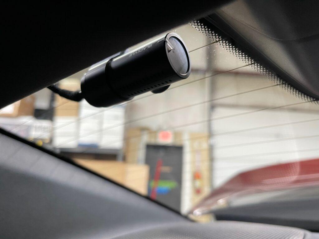 Porsche Taycan Dash Camera Installation