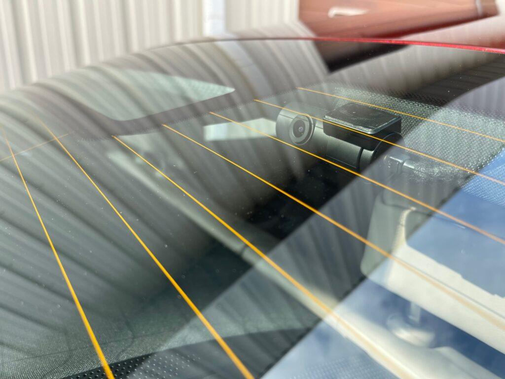 Porsche Taycan Dash Camera Install - Rear Window