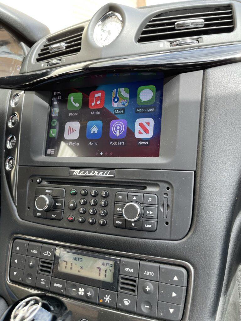 Maserati Apple CarPlay Installed