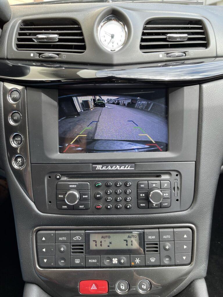 Maserati Reverse Camera Installed