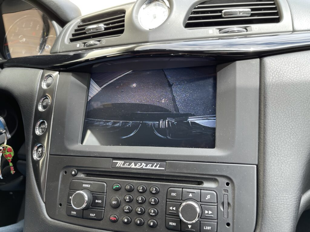 Maserati Front Camera Installation
