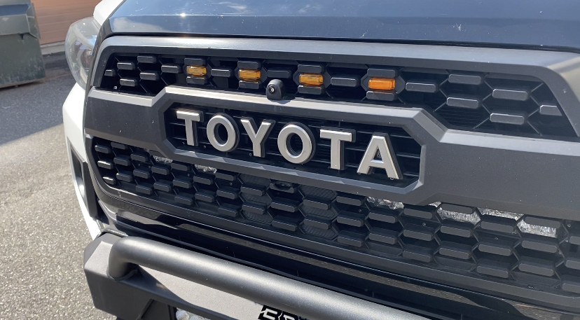 Alpine iLX-F411 Toyota Tacoma Install - with existing front rear camera